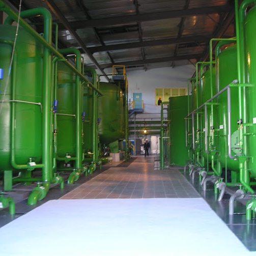 Проектирование, поставка оборудования, монтаж водоподготовительного комплекса в конвертерном цехе  Алчевского металлургического комбината