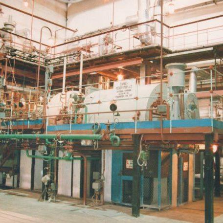 электрогенерирующий комплекс с двумя турбогенераторами Р-2,15-1,406 Алчевский коксохим завод